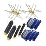 Beater Brush +Aero Vac Filte+ 6 Armed Side Brush for iRobot Roomba 528