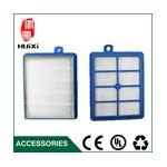 150*120*24mm Size blue air hepa filter Element of Vacuum Cleaner parts