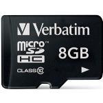 Verbatim Premium MicroSDHC Class 10 8GB