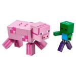 LEGO Minecraft Pig with Zombie Baby 21157
