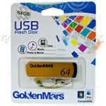 Golden USB 2.0 Mars 64GB
