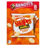 Arnott's Shapes Crackers Mini Chicken Crimpy 200g (8pk)