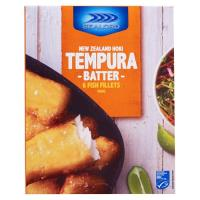 Sealord Fish Fillets Tempura Battered 450g