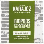 Karajoz Coffee Capsules Biopods Organic 10pk