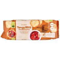 Countdown Rice Crackers Thin Bbq 100g
