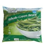 Select Beans Green Whole 1kg