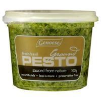 Genoese Pesto Ground With Fresh Basil 100g