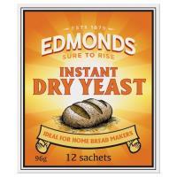 Edmonds Yeast Instant Dry 96g