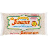 Kings Choice Jasmine Rice Long Grain pkt 1kg