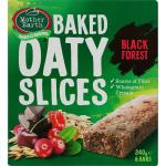 Mother Earth Oaty Slices Muesli Slice Black Forest 240g (40g x 6pk)