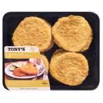 Tony's Chicken Schnitzel prepacked 12pk