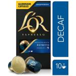 L'Or Espresso LOr Espresso Ristretto Decaf boxed 10pk