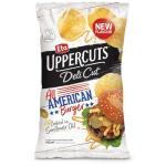 Eta Uppercuts Delicut Potato Chips American Burger 140g