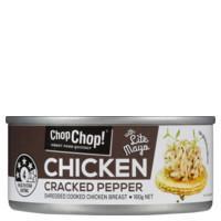 Chop Chop Chicken Cracked Pepper 160g