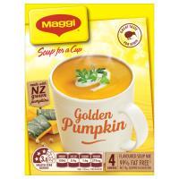 Maggi Soup For A Cup Instant Soup Golden Pumpkin 78g 4 serve