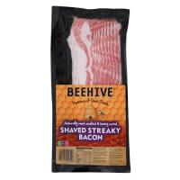 Beehive Streaky Bacon Shaved 180g
