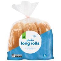 Countdown Bread Rolls Long 6pk
