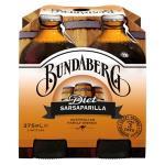 Bundaberg Soft Drink Diet Sarsaparilla 375ml bottles 4pk