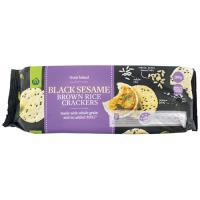 Countdown Rice Crackers Brown Rice & Black Sesame 100g