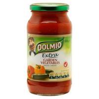 Dolmio Extra Pasta Sauce Garden Vegetables jar 500g