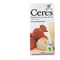 Ceres Fruit Juice Lychee 1l