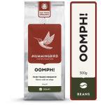 Hummingbird Oomph! Organic Coffee Beans 500g
