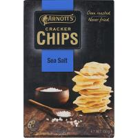 Arnotts Cracker Chips Sea Salt 150g