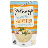 Pitango Creamy Fresh Soup Smoky Fish Chowder pouch 500g