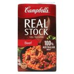 Campbells Real Stock Stock Beef  1l