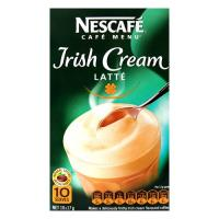 Nescafe Cafe Menu Coffee Mix Irish Cream Latte 170g box 10 sachets