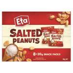 Eta Peanuts Snack Pack 8pk
