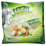 Wattie's Steamfresh Mixed Vegetables Baby Peas Carrots & Cauli 320g (160g x 2pk)