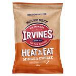 Irvines Heat N Eat Frozen Pie Mince & Cheese 170g