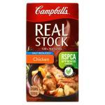 Campbells Real Stock Stock Chicken  Reduced Salt 500ml