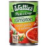 Wattie's Tomatoes Roasted Garlic & Onion 400g