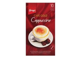 Gregg's Greggs Cafe Gold Coffee Mix Cappuccino 150g box 10 sachets