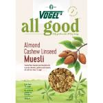 Vogel's Vogels All Good Nut Muesli Almond, Cashew & Linseed 500g