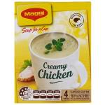 Maggi Soup For A Cup Instant Soup Creamy Chicken 54g 4 serve