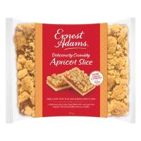 Ernest Adams Slices Apricot Crumble 350g