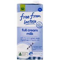 Free From Lactose Full Cream Milk 1l