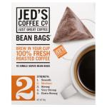 Jeds Coffee Co Coffee Bags Beans No 2 80g (10pk)
