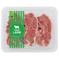 Countdown Lamb Chops Plain Shoulder min order 800g
