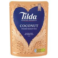 Tilda Steamed Rice Coconut Basmati 250g