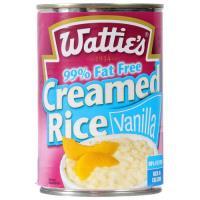 Wattie's Creamed Rice Vanilla 99% Fat Free 420g
