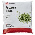 Homebrand Frozen Peas 1kg