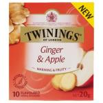 Twinings Infusions Ginger & Apple 10pk