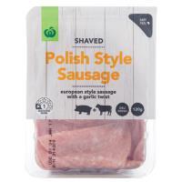 Countdown Polish Sausage Shaved 120g