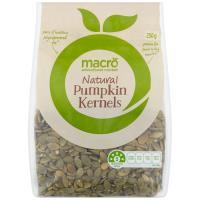 Macro Pumpkin Seeds Pumpkin Kernels 250g