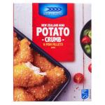 Sealord Fish Fillets Hoki Potato Crumbed 480g