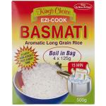 Kings Choice Basmati Rice Boil In Bag 4X125g 500g